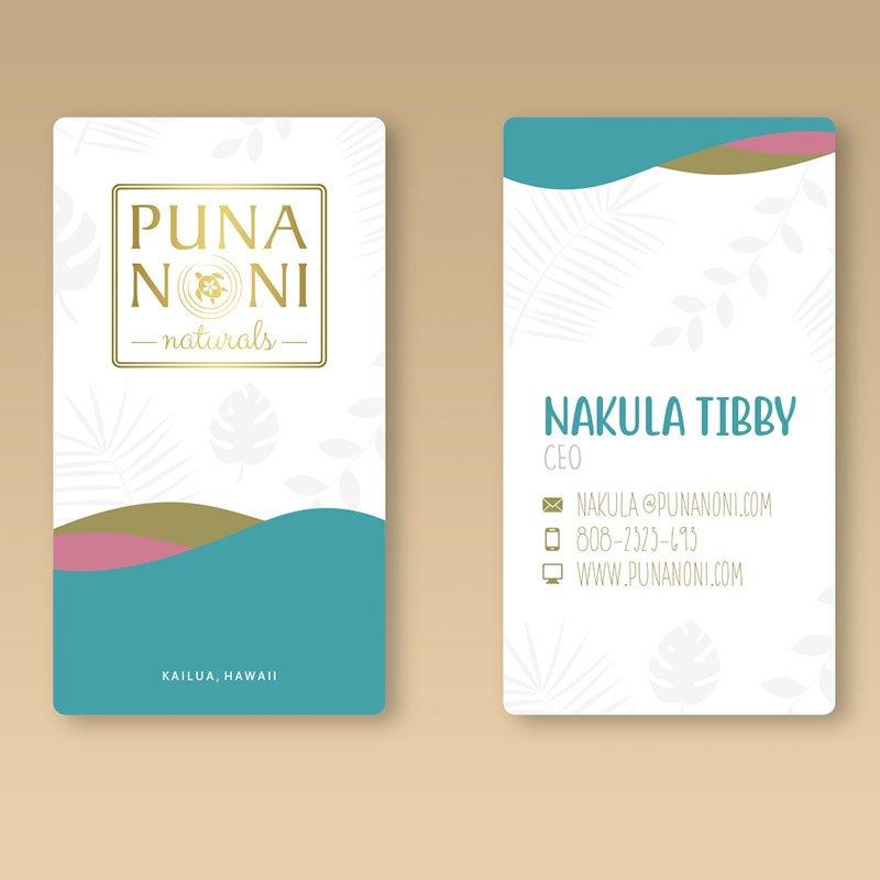 Branding & Graphic Design - Portfolio - Puna Noni